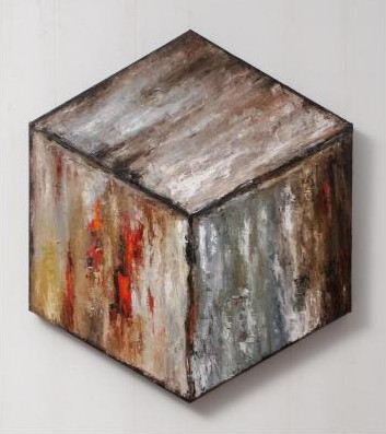 Encapsulation-Cube Oil Painting
