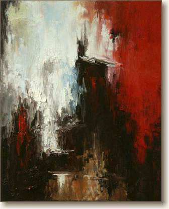 Significance - Abstract Oil Painting